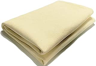 Car Cleaning Natural Chamois Leather Drying Towels 6.5 Sq ft
