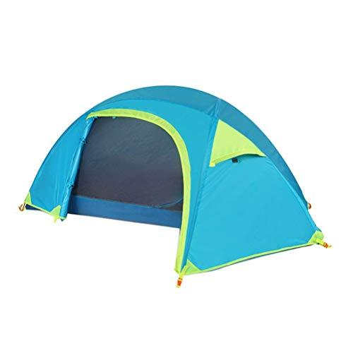Busirsiz Tienda al aire libre solo montar a caballo pesca camping carpa doble ultraligero a prueba de lluvia resistente al viento camping fácil de instalar, adecuado para exteriores, senderismo y