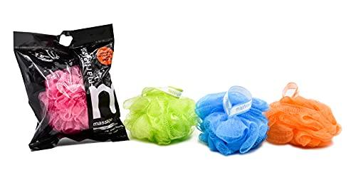 MartiniSPA Massage Color Spugna A Rete Soft Peeling, Colori Assortiti, 1 pezzo
