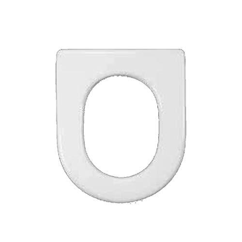 Copriwater dedicato per Serie Nuvola Azzurra in Resina Poliestere colata Bianco Lucido - Coperchio Sedile tavoletta per WC - Massima qualita' Garantita