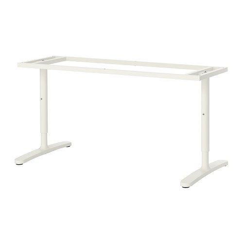 IKEA BEKANT - estructura inferior de la tapa de tabla, blanco - 160x80 cm