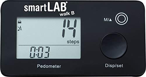 smartLAB Walk B 3D-Schrittzähler - Bluetooth Kalorien-Zähler zur genauen Schritt-Messung - Pedometer mit 35 Tage Speicherung. Nur Android. Kein iOS