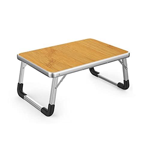 LICHUAN Aleación de aluminio plegable portátil mesa para aprender mesa de...