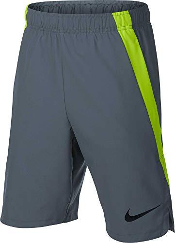 Nike Dri-fit Short de Sport pour garçon XL Gris (Cool Grey/Volt/(Black))