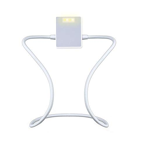 Luz de Libro LED [Nueva Versión], Dokkita Lámpara de Lectura Recargable con...