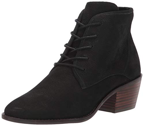 Lucky Brand Women's LK-IDRIL Ankle Boot, Black, 8 M US