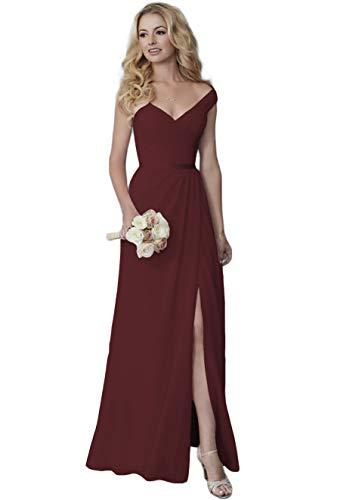 Off the Shoulder a Line Wedding Dress Cheap Plus Size