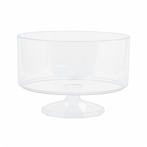 amscan Plastic Trifle Container (Small) (Clear)