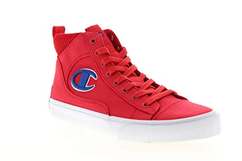 Champion Mens Fringe HI Red High Top Sneakers Shoes 10.5