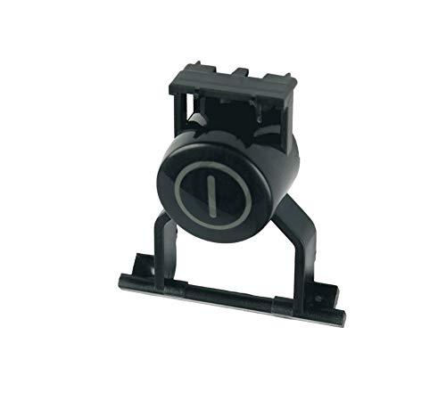 Toetsdop aan/uit voor vaatwasser zwart Siemens 00180810