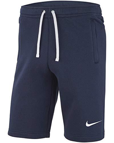 Nike Herren Club 19 Shorts, Obsidian/Obsidian/White/White, S