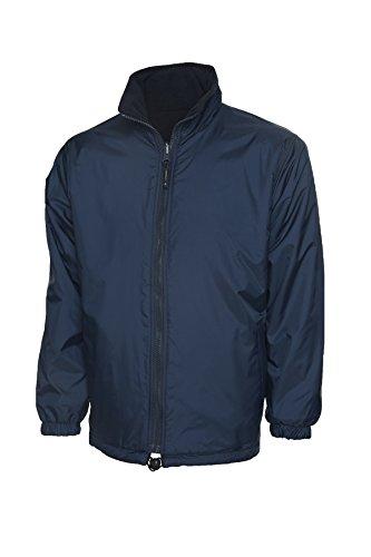 Uneek clothing UC605 – Veste polaire réversible de qualité supérieure (300 g/m²) – Bleu marine – Taille S