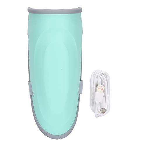 Máquina masajeadora de piernas, masajeador de pantorrillas, tamaño de carga USB de compresión caliente de plástico ajustable para aliviar la fatiga y promover la circulación sanguínea