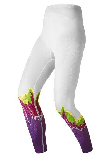 Odlo Pantalon pour homme Evolution Warm Femme Blanc, Femme, Weiss