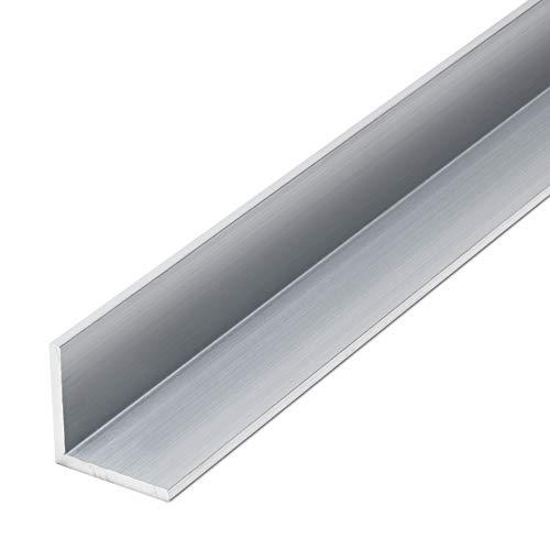 thyssenkrupp Winkelprofil Aluminium 25 x 25 x 2 mm in 2000 mm Länge   Aluwinkel gleichschenklig   EN AW-6060