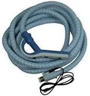Central Vacuum Cleaner Genuine Style Replacement Hose Designed to Fit Aerus Electrolux 1580, 1590, Lux Centralux Complete with Direct Connect and Pigtail Cord Gray