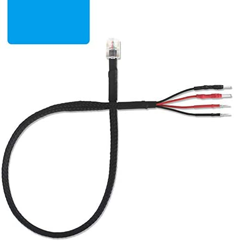 RJ11 Multi Size Plugs Mirror Wire Radar Detector Hardwire Power Cord for Escort Valentine One product image