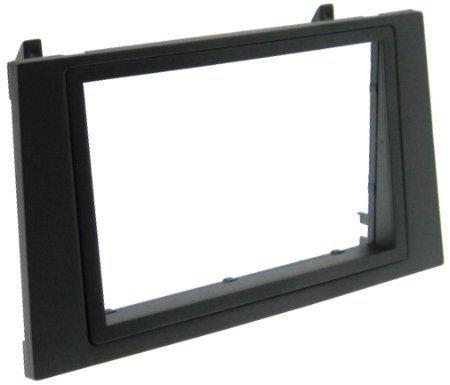 FORD mondeo-façade d'autoradio double dIN cadre de montage + adaptateur radio iSO gPS écran tFT