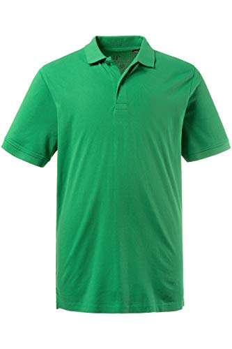 JP 1880 Herren, Poloshirt , Halbarm, Unifarben, Farbe: Waldgrün, Gr. 5XL