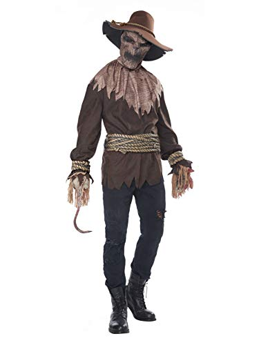 California Costumes Killer in The Cornfield Adult Costume-Small/Medium Brown