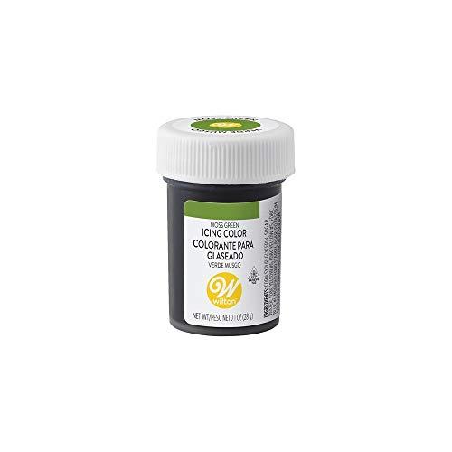 Wilton Colorante Alimenticio para Glaseado en Pasta, 28.3g, Color Verde Musgo, 04-0-0049