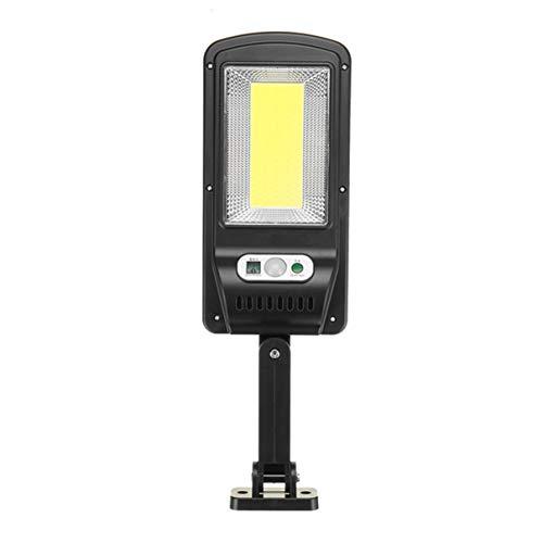Tquuquu Sensor de luz de Calle Solar luz de jardín LED luz de jardín al Aire Libre luz de Calle luz de Pared Patio Impermeable lámpara de Ahorro de energía al Aire Libre