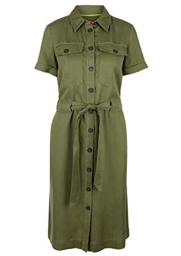 s.Oliver Damen Kleid, 7810 Green, 38