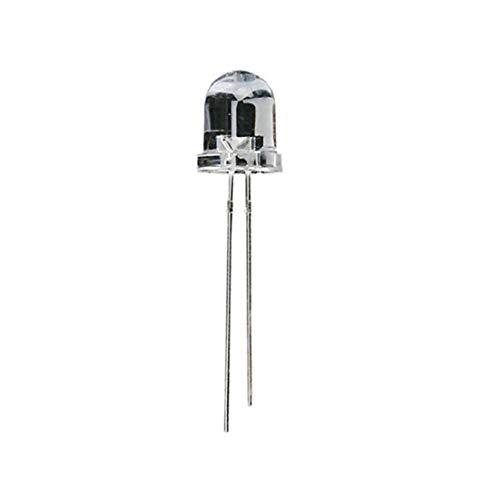 LAANCOO Usos día día Mopther 8mm lámpara Luces LED Diodo emisor de los bulbos de lámpara LED Kit 10Pcsfor Valentine Invierno