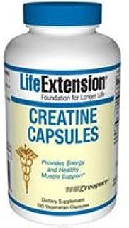 Life Extension, Creatine Capsules, 120 Vegetarian Capsules