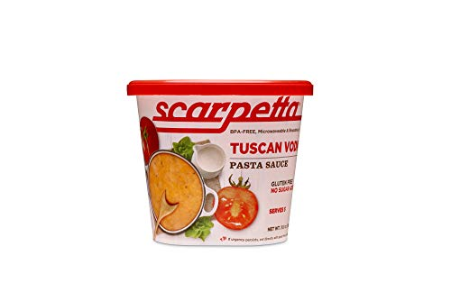 Scarpetta Tuscan Vodka Sauce, 19.8-Ounce Jar (Pack of 4)
