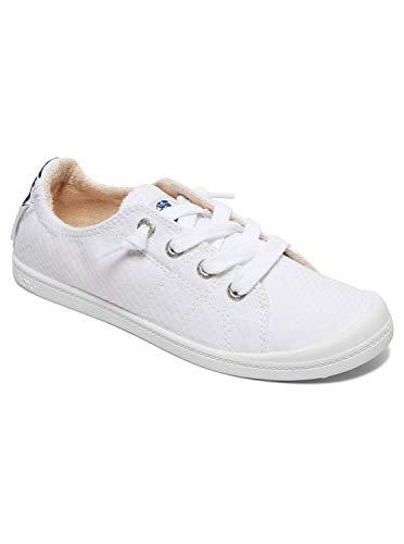 Roxy Damen Bayshore Shoes For Women Sneaker, White, 37 EU