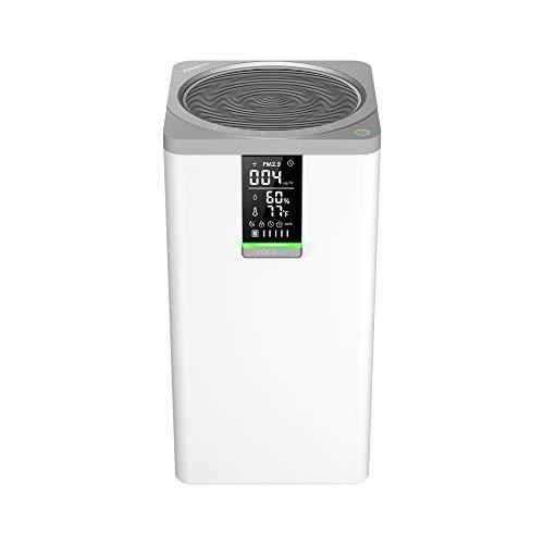 VOCOlinc Smart WiFi HEPA Air Purifier 3-Stage Filtration Cleaner for Home Large Room Bedroom 645 sq.ft 295 CFM Works w/HomeKit Alexa Google Assistant 99.97% Removal Efficiency VAP1
