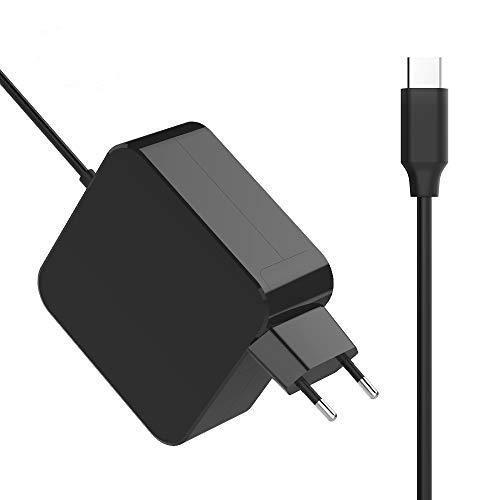 Newding 65W PD USB C (Type-C) Notebook Ladekabel Ersetzen für MacBook Pro, Lenovo, ASUS, Acer, Dell, Xiaomi Air, Huawei Matebook, HP Spectre, Thinkpad und andere Laptops oder Smartphones mit USB C