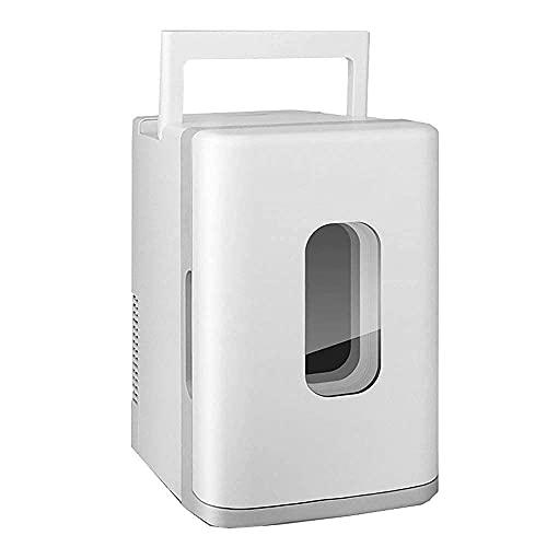 H.Slay Refrigerador de Coche SHKUU/Mini refrigerador 10L / Refrigerador de Dormitorio de Oficina pequeño/Adecuado para el hogar