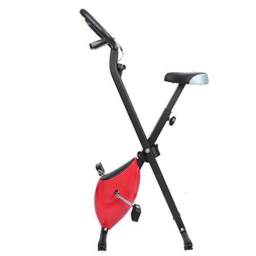 Worii Bicicleta de Ejercicio Plegable, Pantalla LED, Bicicleta de Ejercicio de Seguridad y Ejercicio, Estable para Hombre, Mujer, Ejercicio, Cuerpo, Mantener la Aptitud para Personas Mayores