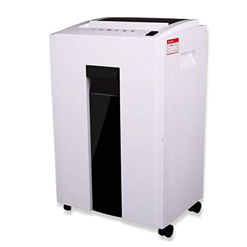 SCDFDJ Aktenvernichter, Junk-Mail, Bürobedarf Shredder High Power Elektroklein Crusher Mute Design-16L Abfallpapierkapazität for Office Haushalts