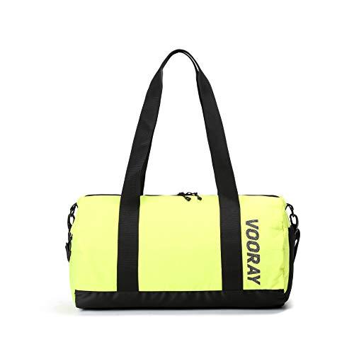 Vooray Iconic Duffel - 27,5L - Duffel Barrel Sporttasche (Neon Yellow)