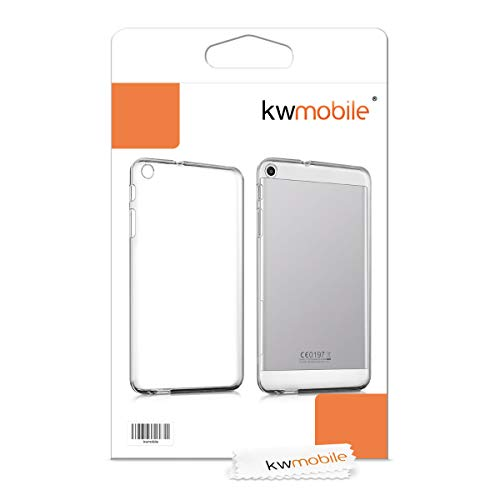 kwmobile Huawei MediaPad T1 7.0 Hülle - Silikon Tablet Cover Case Schutzhülle für Huawei MediaPad T1 7.0 - Transparent - 6