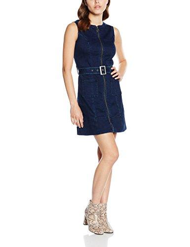 Pepe Jeans Penelope - Vestido Mujer, Azul (Denim 000), 40 (Talla del...