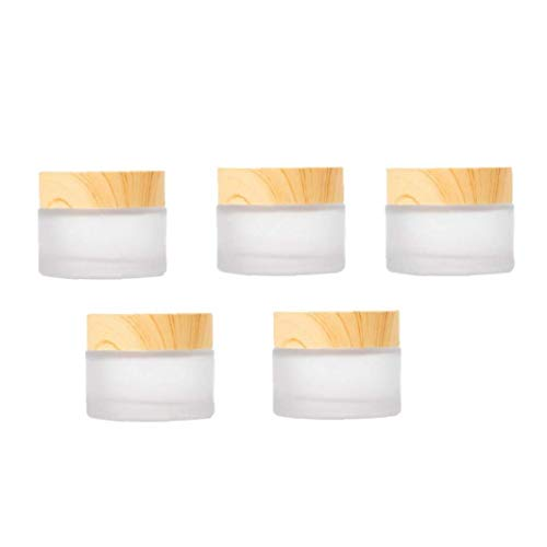 OMMO LEBEINDR Envases cosméticos Crema Tarro Muestra Ollas cosmético compone de Cristal...