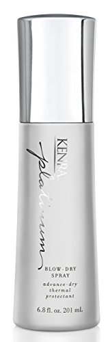 Kenra Platinum Blow-Dry Spray | Time-Saving Thermal Protectant | Medium To Coarse Hair | 6.8 fl. Oz