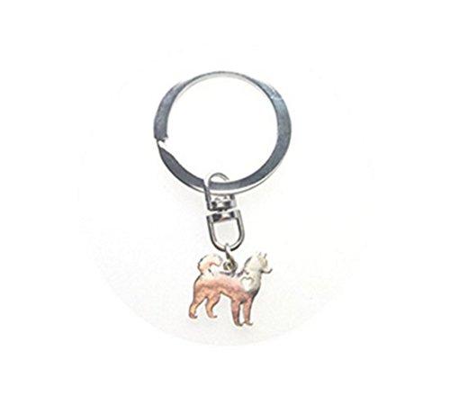 Perro con corazón clave cadena Jewelry Novio Regalo hecho a mano de regalo de cumpleaños regalo de Navidad