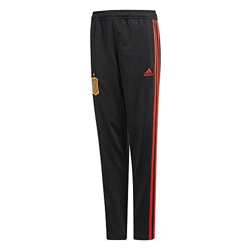 adidas Kinder Hose Spanien, Black/Red, XL, CE8804