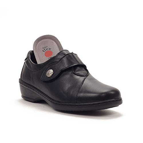 Notton - Zapato Casual 2351 para: Mujer Color: Negro Talla: 39