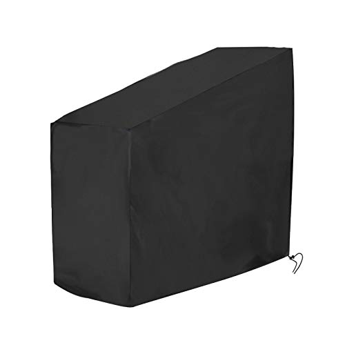 Exercise Bike Cover, Bicycle Cover with Storage Bags Safe Aging Nylon, Lock Hole Resistant Stationary Fitness Fabric Ideal For Mountain Bike, Road Bike, Spin Bike ✅