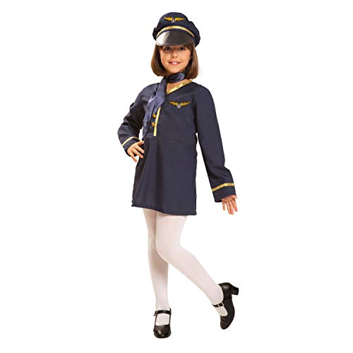 My Other MeStewardess-Kostüm für Mädchen (Viving Costumes) 10-12 años