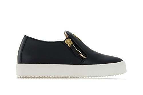 """eve"" leather slip-on sneakers-36.5 donna"