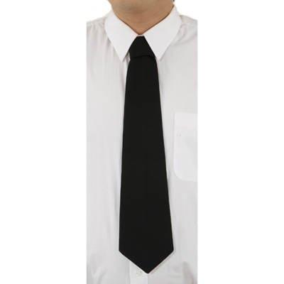 Sale Krawatte: Schlips, schwarz, gebunden