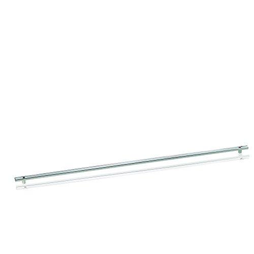 Kela 19636, barre de suspension pour accessoires de cuisine, métal chromé, longueur 80 cm, 'Prisma'