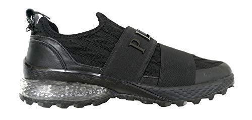 PHILIPP PLEIN Herrenschuhe Sneakers S19SMSC1874PTE00N schwarz, - Tessuto - Größe: 42 EU